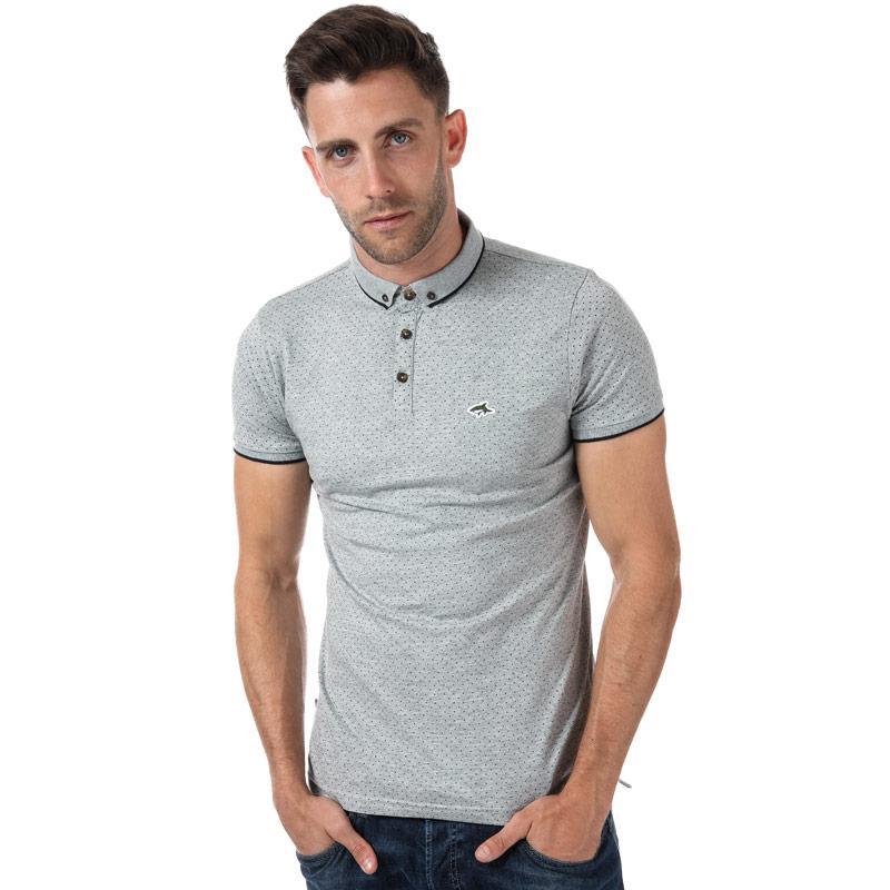 Le Shark Mens Howard Polo Shirt Grey Marl