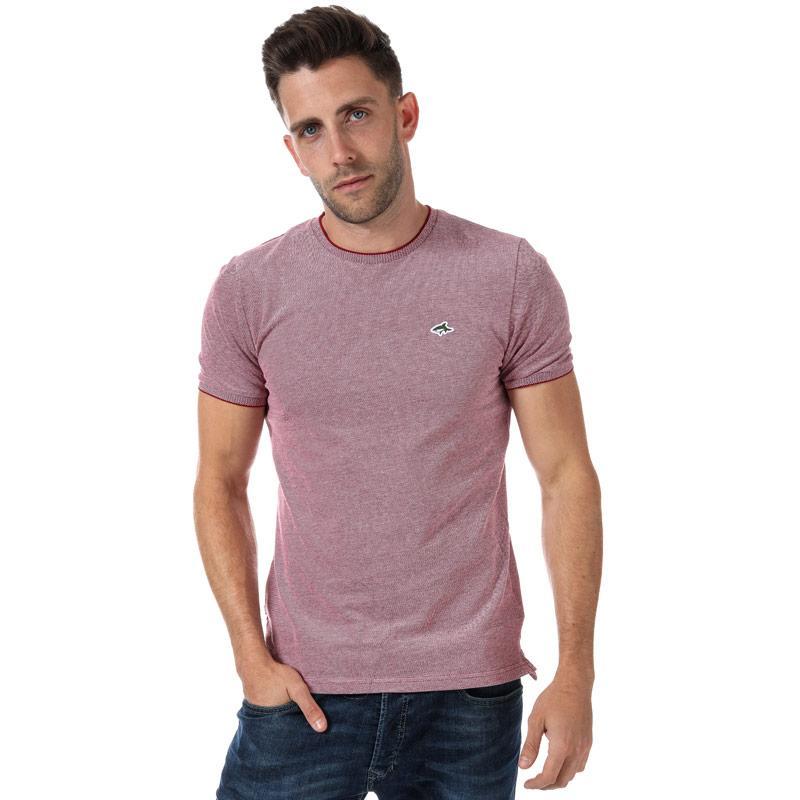 Tričko Le Shark Mens Mackworth T-Shirt red white