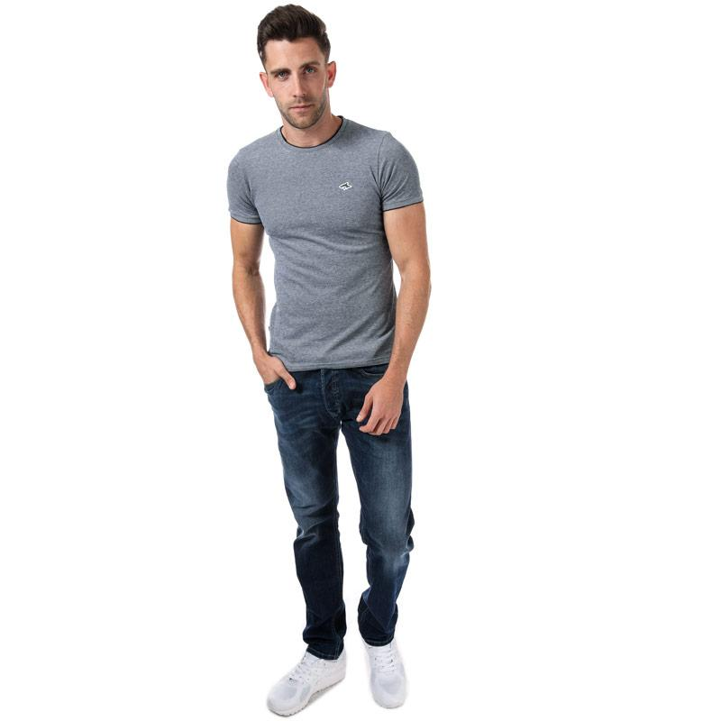 Tričko Le Shark Mens Mackworth T-Shirt Green White
