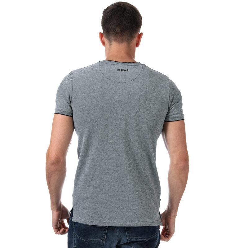 Tričko Le Shark Mens Mackworth T-Shirt Black-White