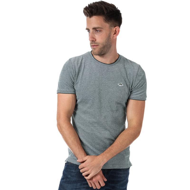 Tričko Le Shark Mens Mackworth T-Shirt Navy-White