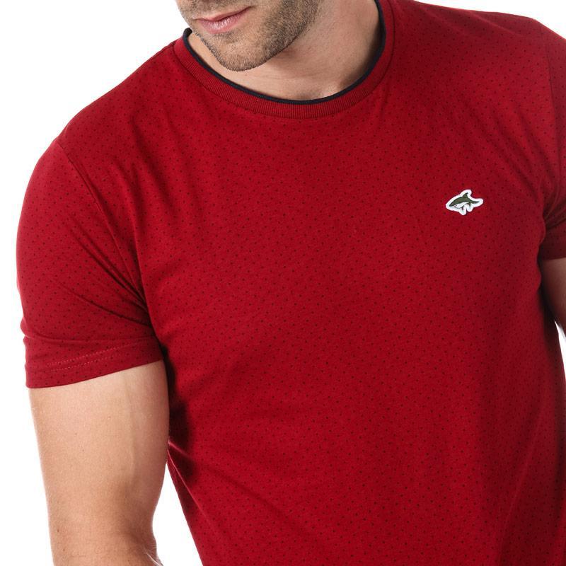 Tričko Le Shark Mens Robin T-Shirt Red