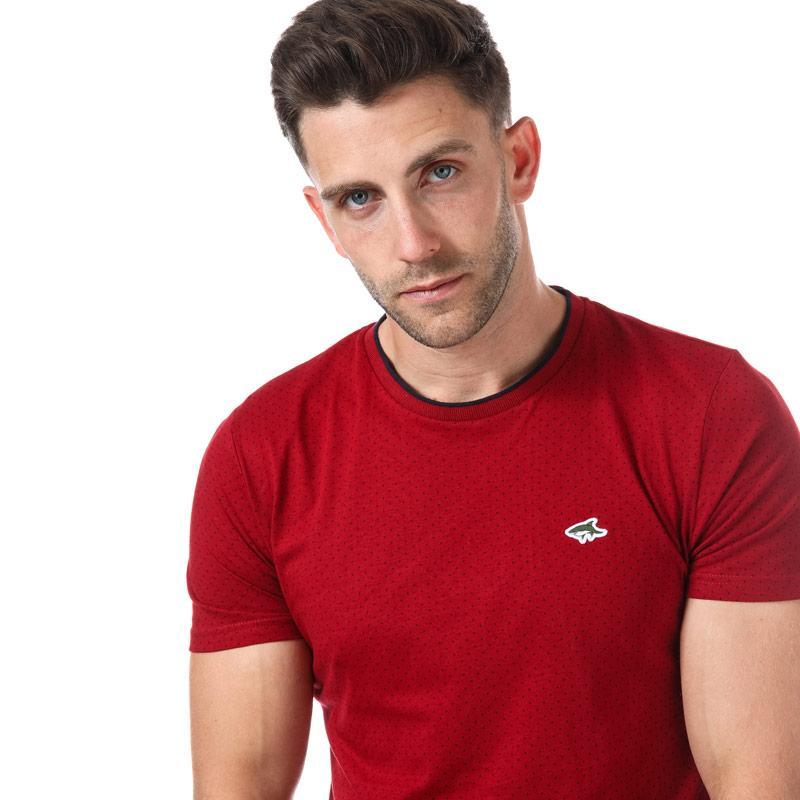Tričko Le Shark Mens Robin T-Shirt Grey Marl