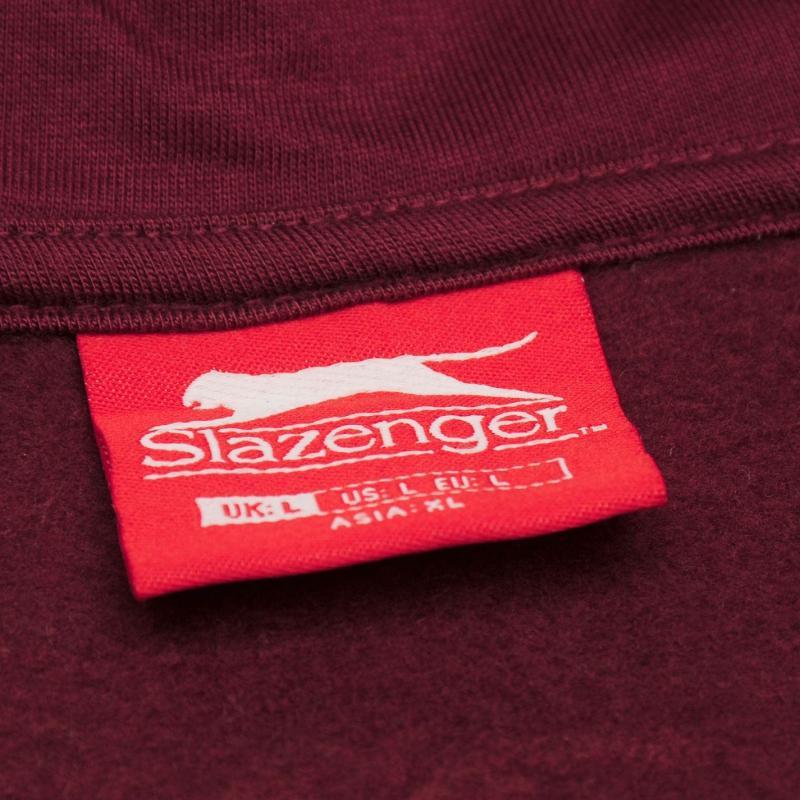 Mikina Slazenger Full Zip Hoody Mens Steel Blue