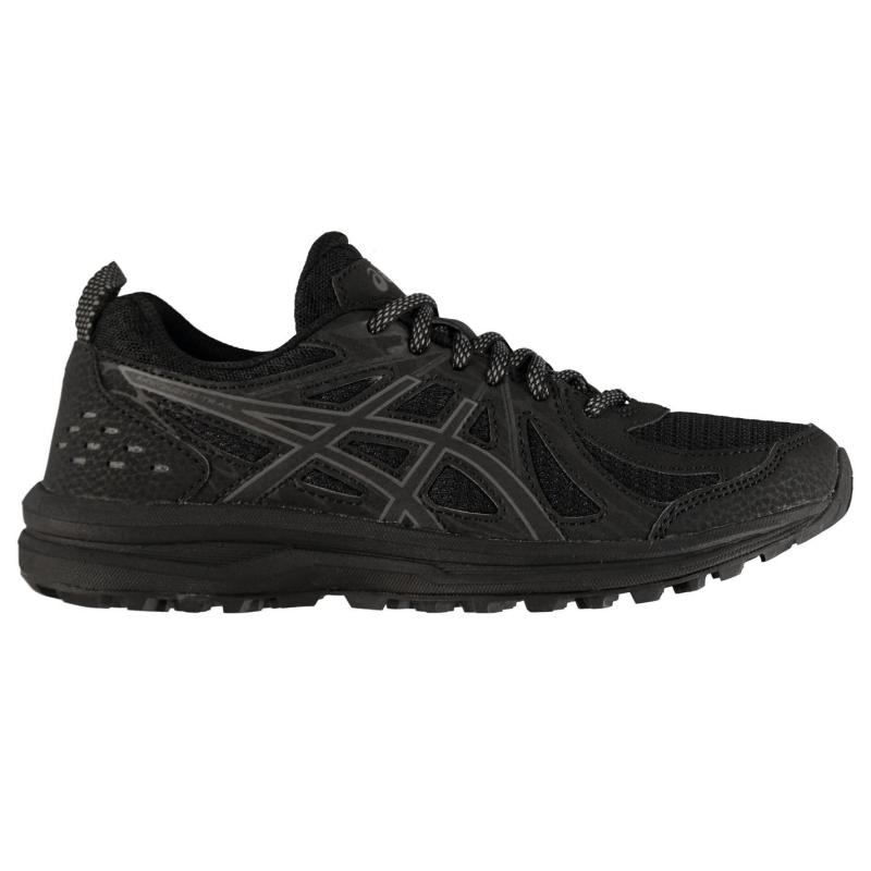 Asics Frequent XT Trail Running Shoes Ladies Black/Grey