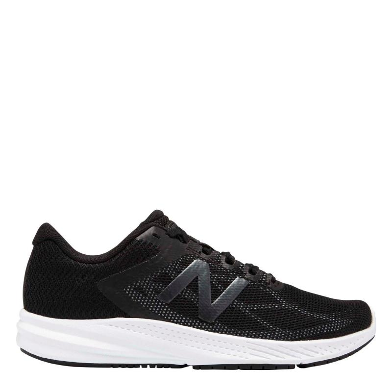 New Balance W 490 Ladies Running Shoes Black/White
