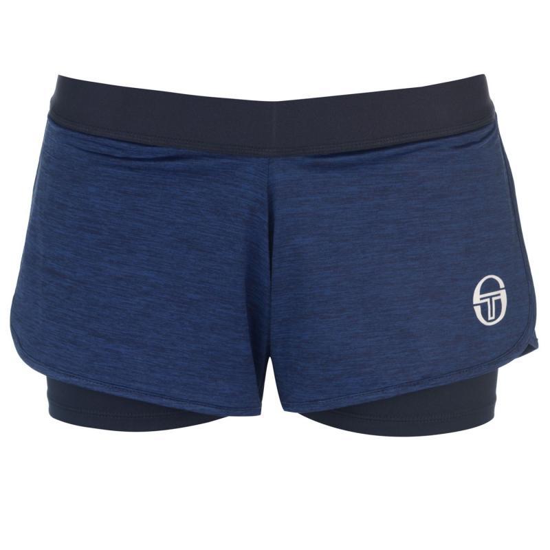 Sergio Tacchini Ella Shorts Ladies Blue/Black