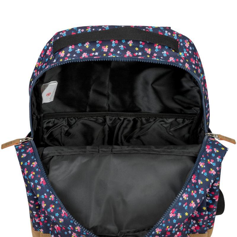 SoulCal Carmel Backpack Navy Floral