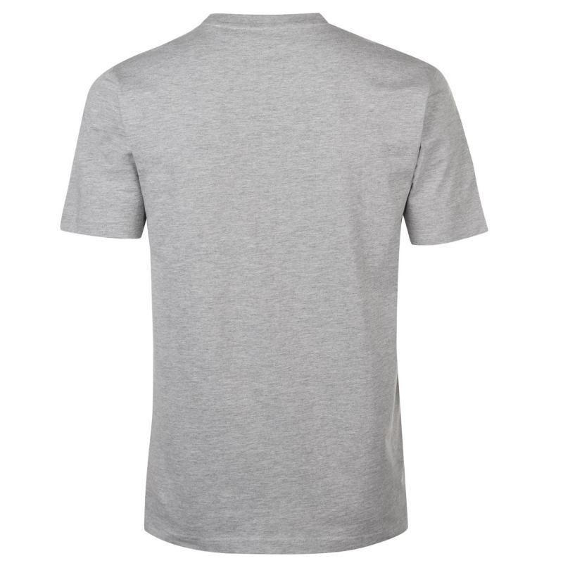 c71743878d00 Tričko Tapout Print T Shirt Mens Grey