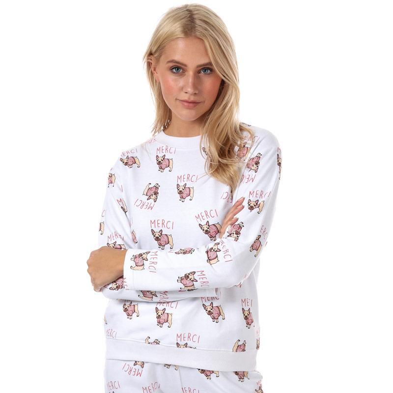 Mikina Daisy Street Womens Merci Lounge Sweatshirt Multi colour