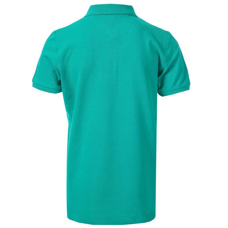Tričko Franklin And Marshall Infant Boys Core Logo Polo Shirt Green