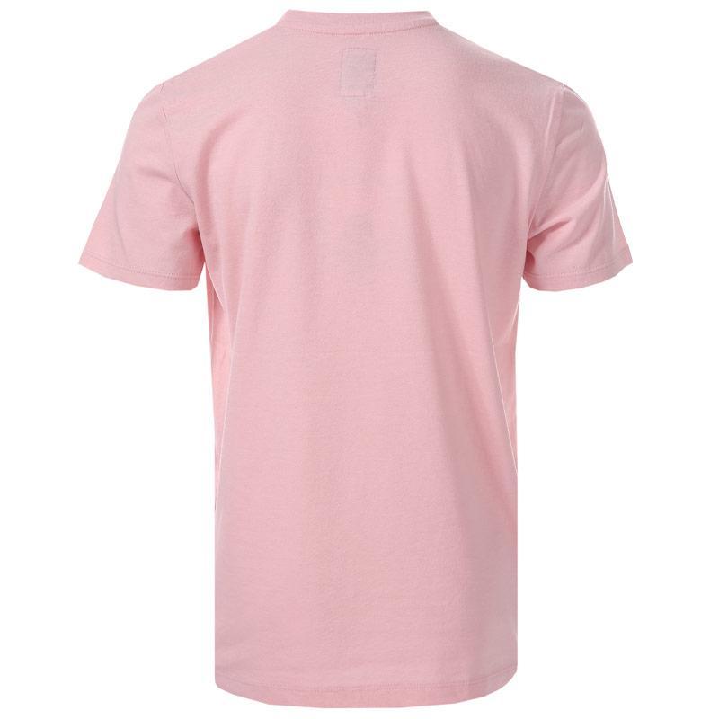 Tričko Franklin And Marshall Infant Boys F and M Logo T-Shirt Pink