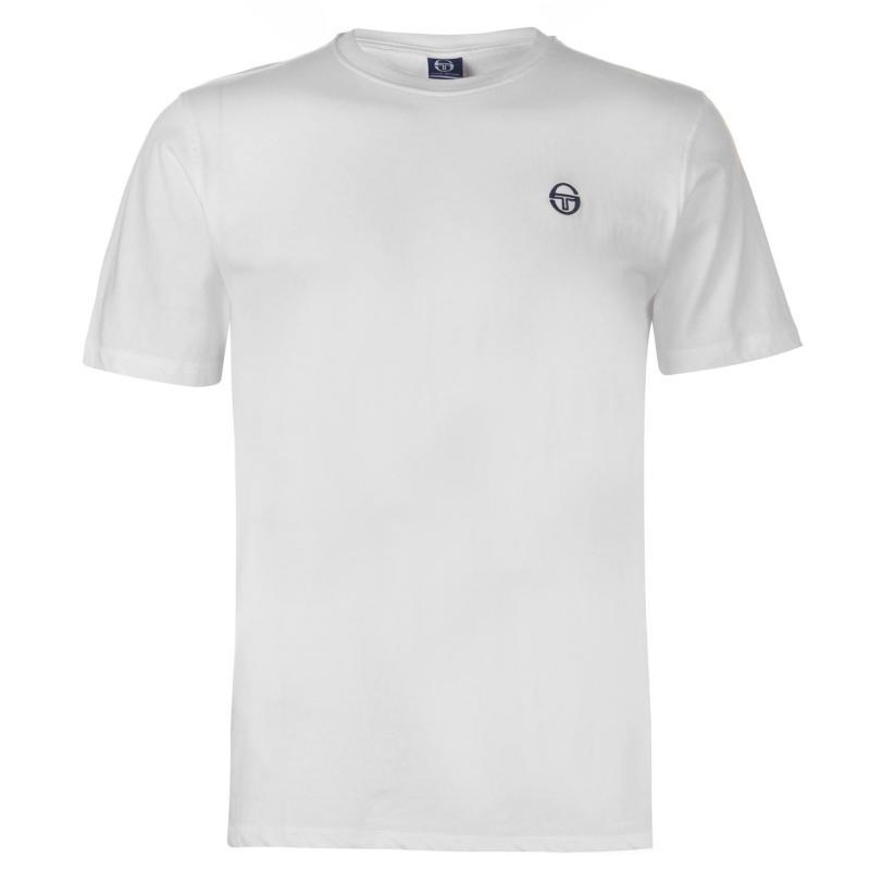Tričko Sergio Tacchini Daiocco T Shirt Mens White