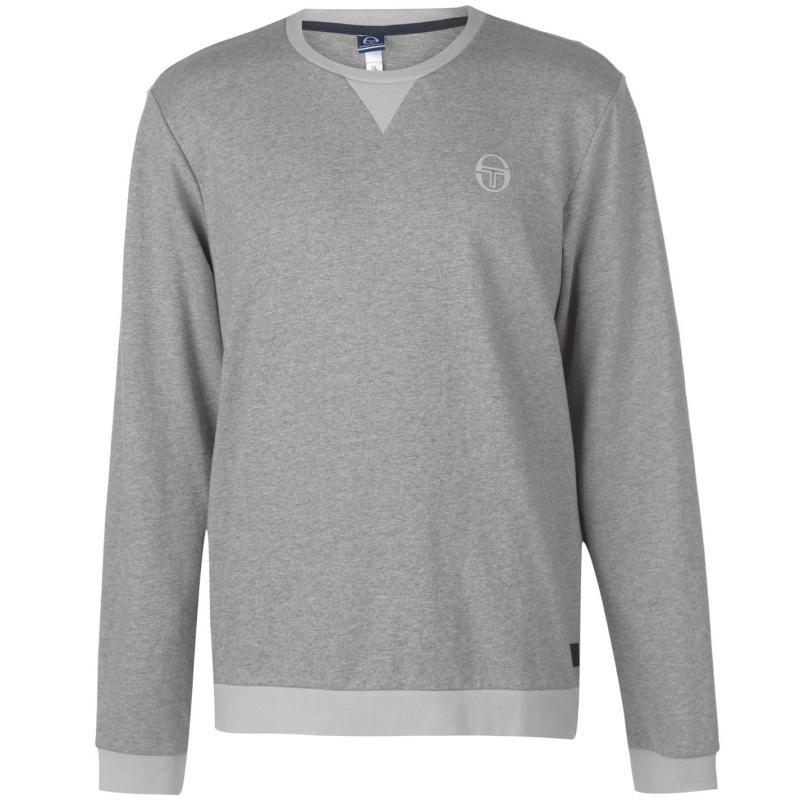 Mikina Sergio Tacchini Zacon Sweatshirt Mens Grey