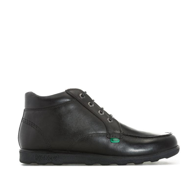 Boty Kickers Mens Fragma Casual Leather Chukka Boots Black