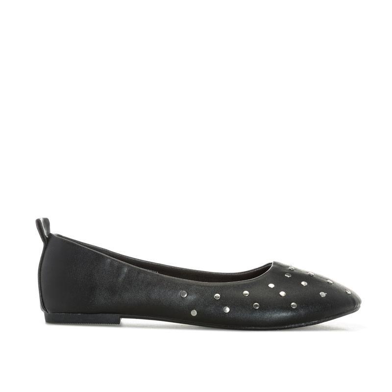 Vero Moda Womens Elivira Ballerina Shoes Black