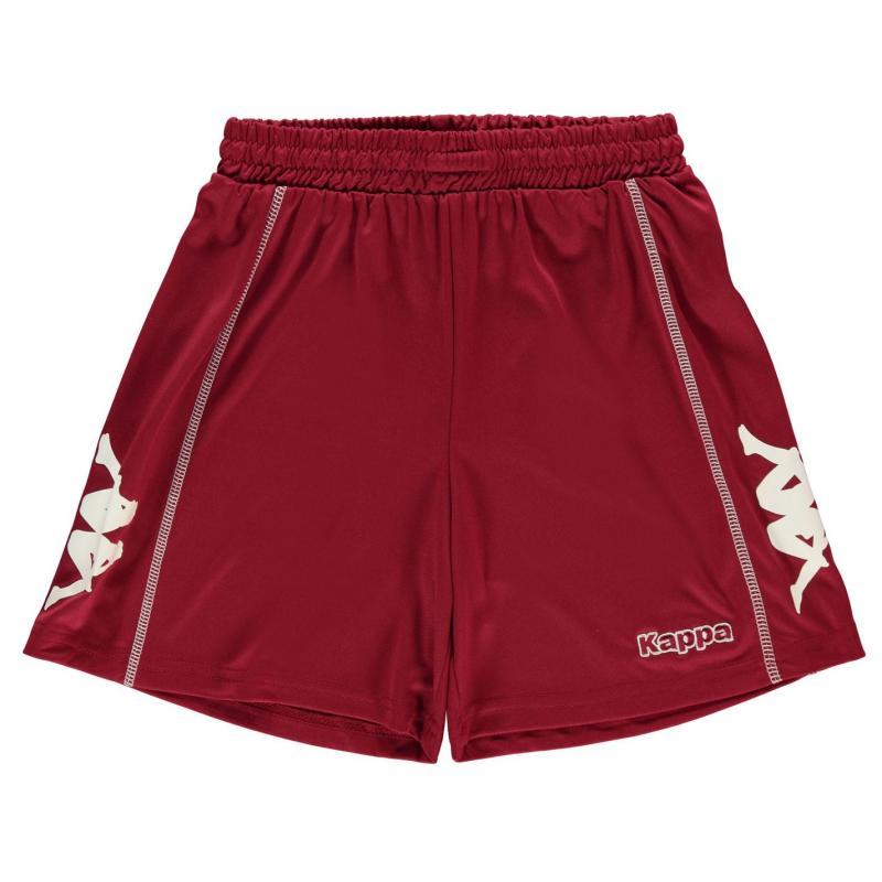 Kraťasy Kappa Alba Shorts Junior Boys Bordeaux/White