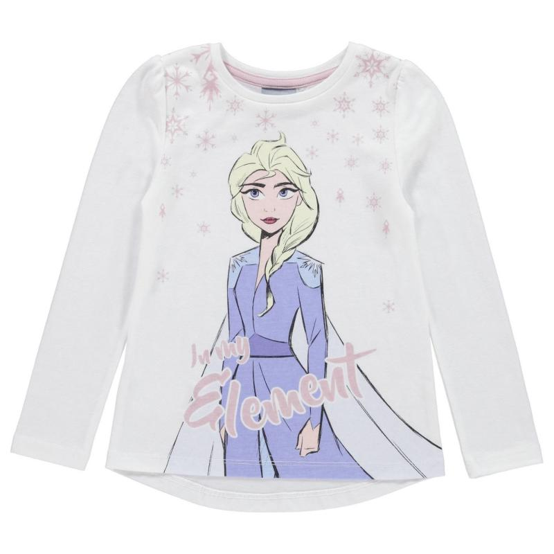 Character Gilet Set Girls Frozen
