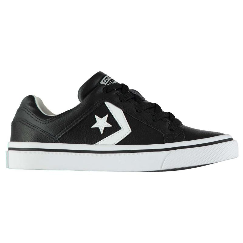 Boty CONS Distrito Leather Trainers Black/White
