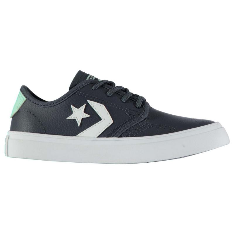 Boty CONS Zakim Trainers Charcoal