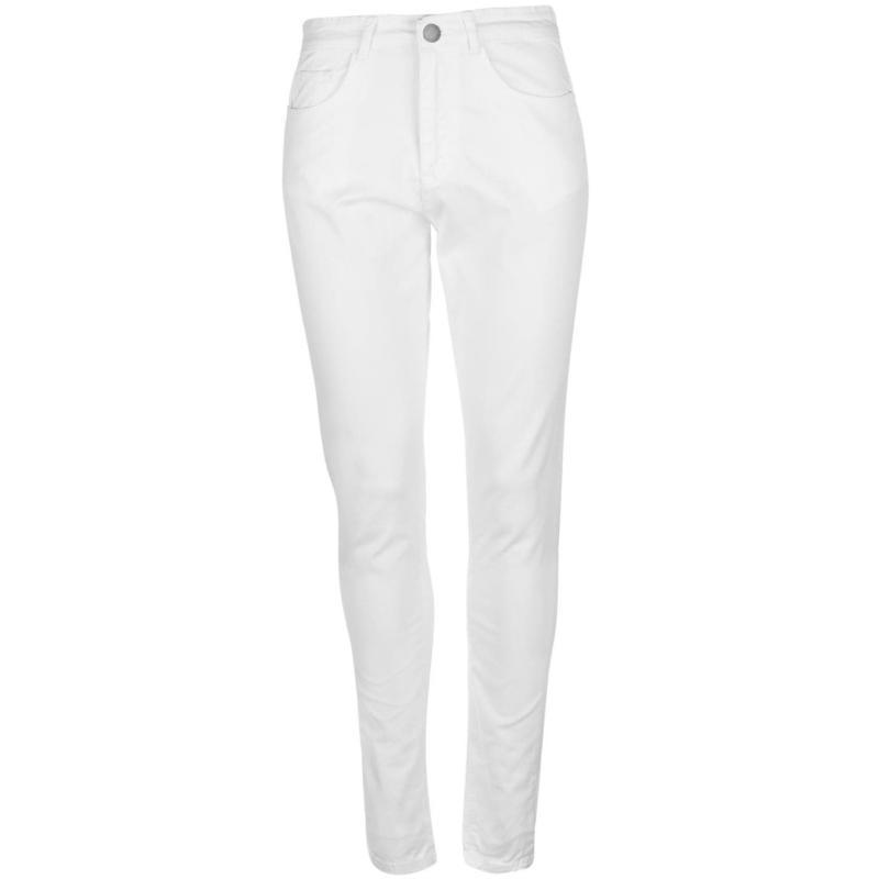 Kalhoty Kangol Skinny Stretch Jeans Ladies White