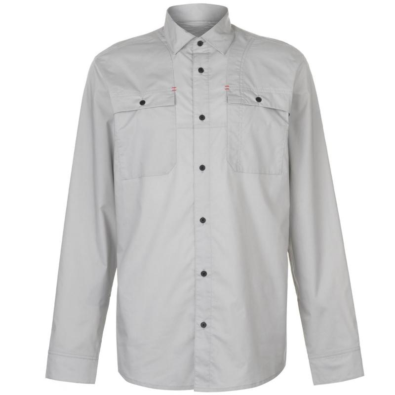 Spyder Crucial Long Sleeve Shirt Mens Cirrus