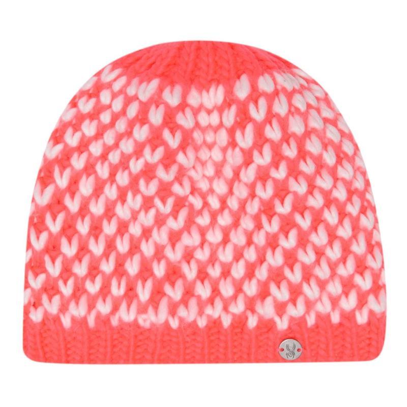 Spyder Multi Berry Hat Ladies Bryte Pink Whit
