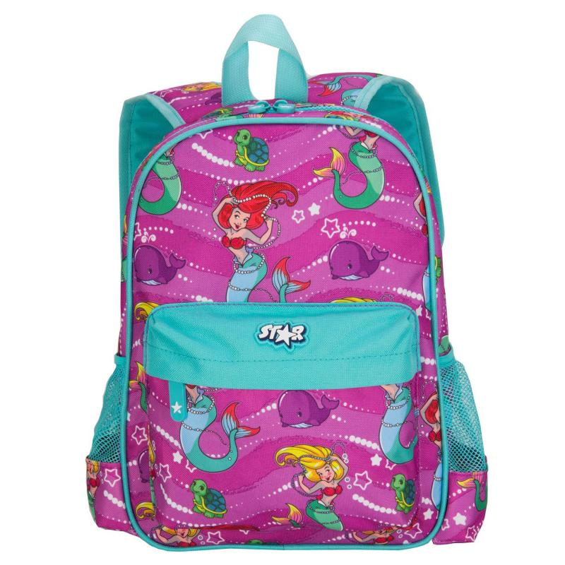 Star Graphic Backpack Little Mermaid