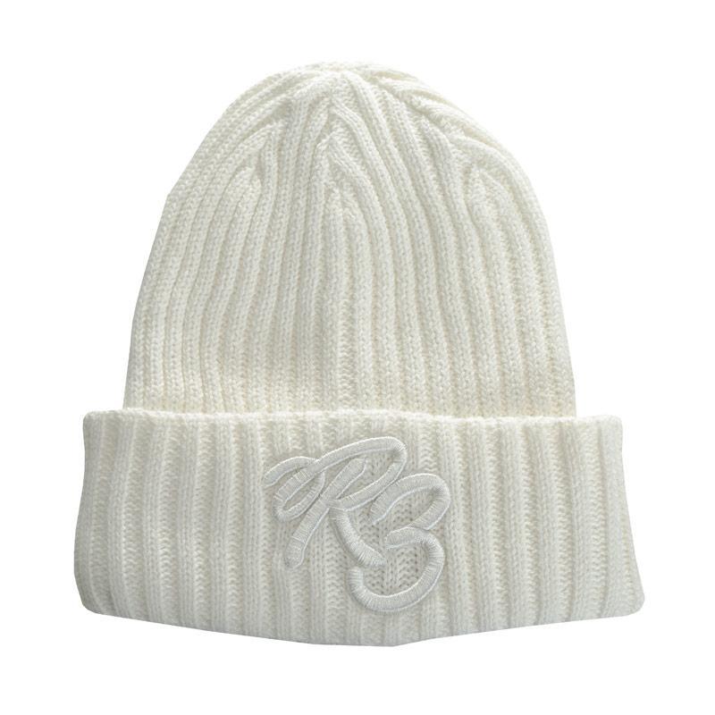 Ripstop Boys Rip Bean Beanie Hat White