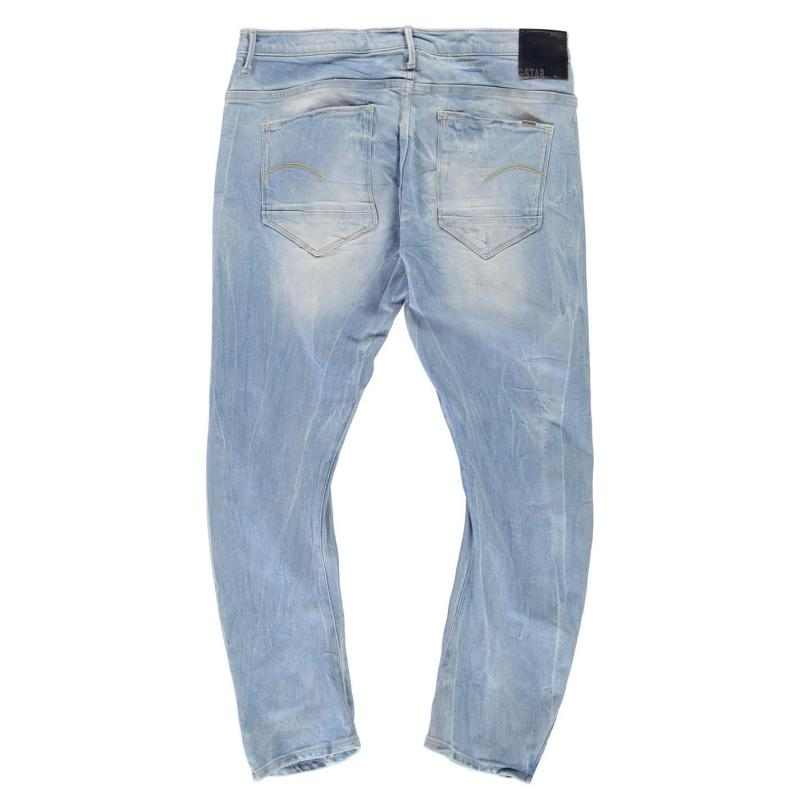 G Star Arc 3D Kate Tapered Jeans lt aged destroy