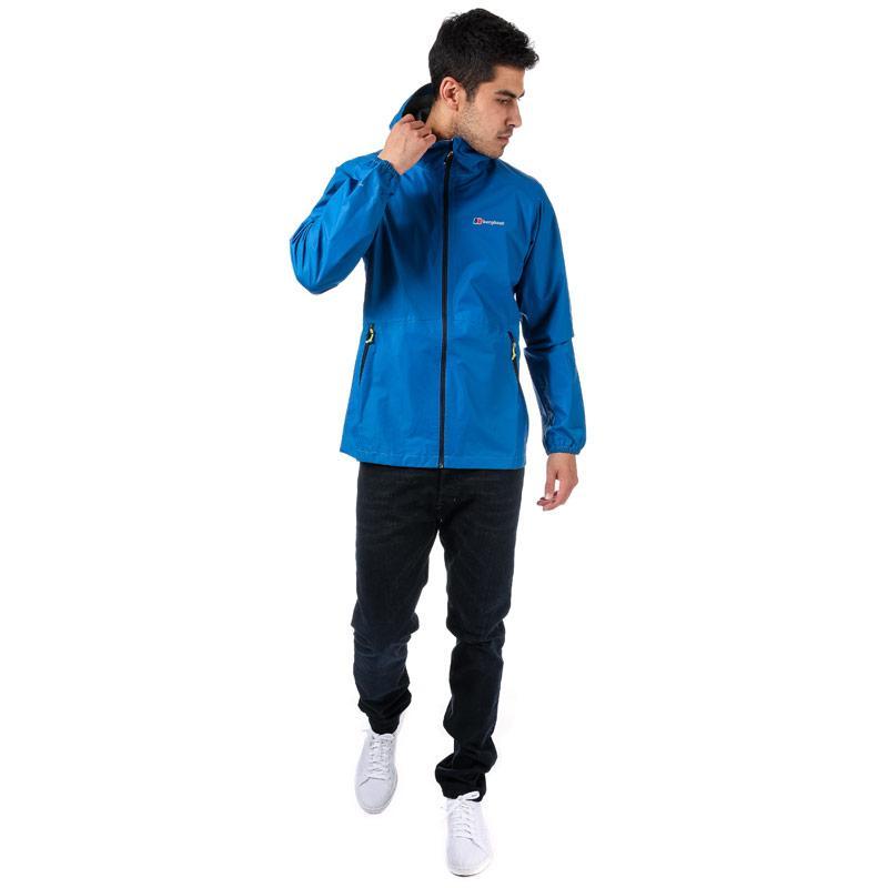 Berghaus Mens Duluge Light Shell Jacket Blue