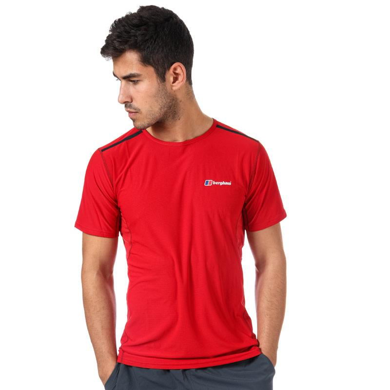 Tričko Berghaus Mens Super Tech Base Crew T-Shirt Red