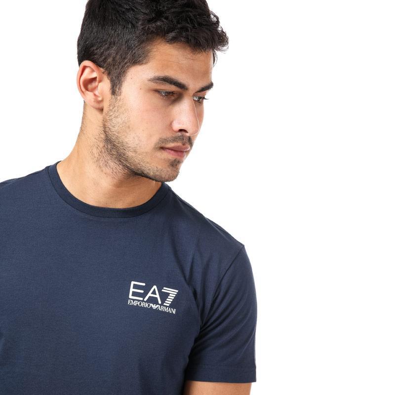 Emporio Armani EA7 Mens Train Core ID T-Shirt Navy