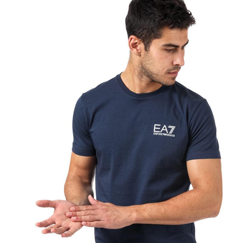 Tričko Emporio Armani EA7 Mens Train Core ID T-Shirt Navy