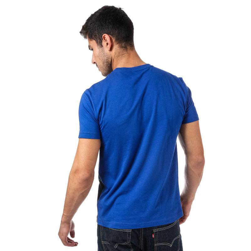 Tričko Emporio Armani EA7 Mens Train Tritonal T-Shirt Dark Blue