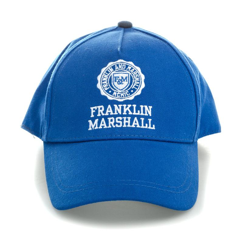 Franklin And Marshall Boys Logo Cap Blue