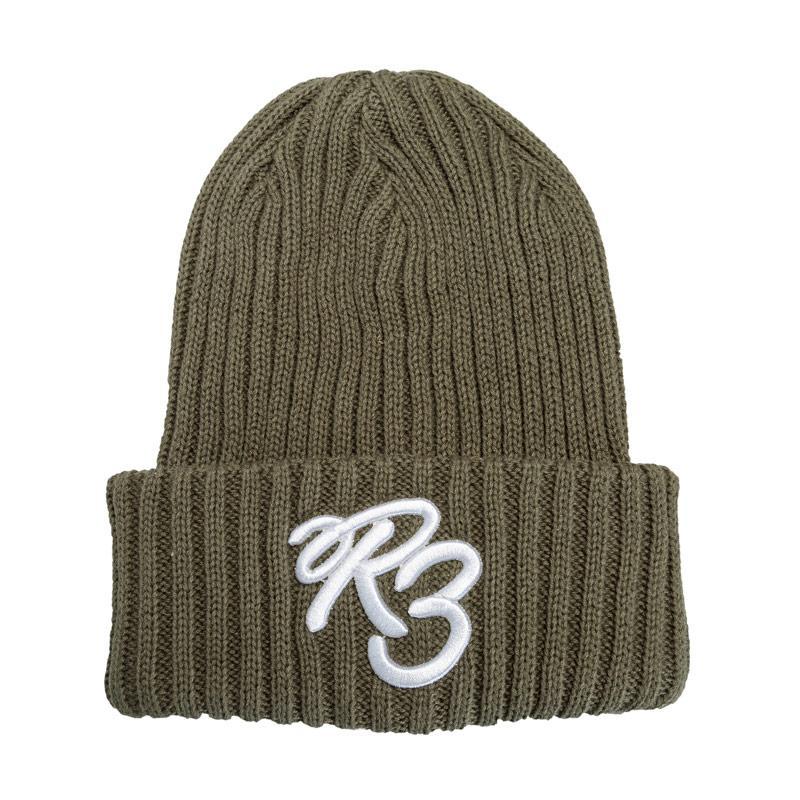 Ripstop Boys Rip Bean Beanie Hat Khaki