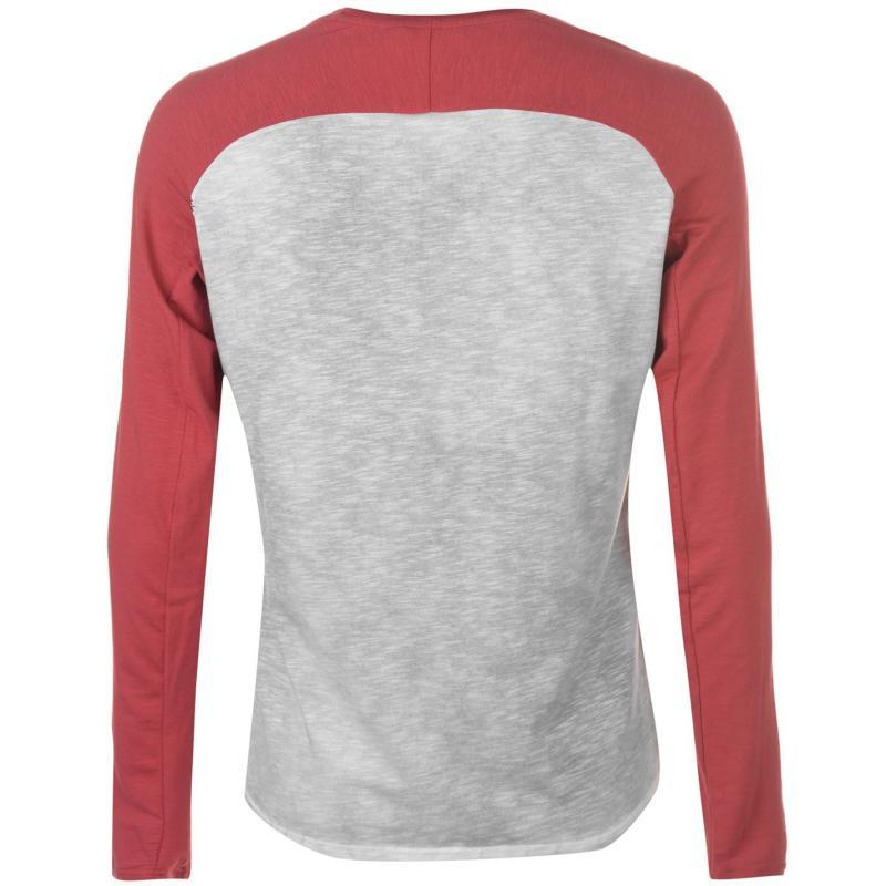 Tričko Chillaz Hirschkrah Top Mens Grey/Red