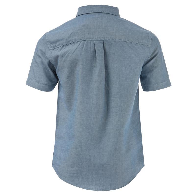 Košile Farah Junior Boys Gosport Shirt Blue