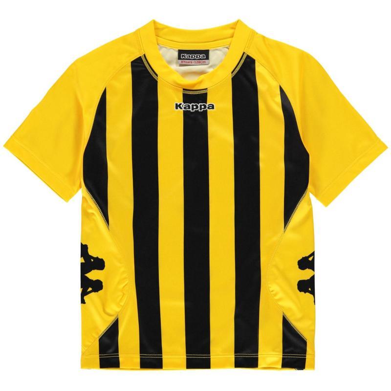 Tričko Kappa Barletta Short Sleeve T Shirt Junior Boys Black/Red