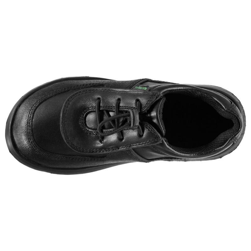Kickers Jiri Lace Trainers Black