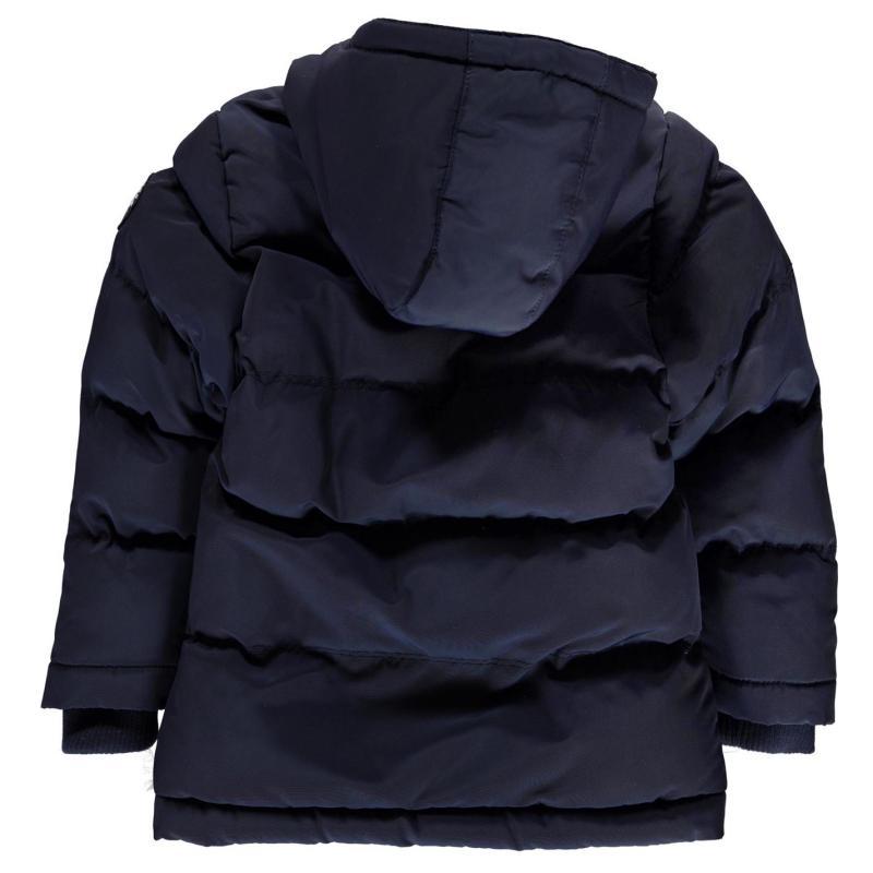 SoulCal Bubble Jacket Infant Boys Navy