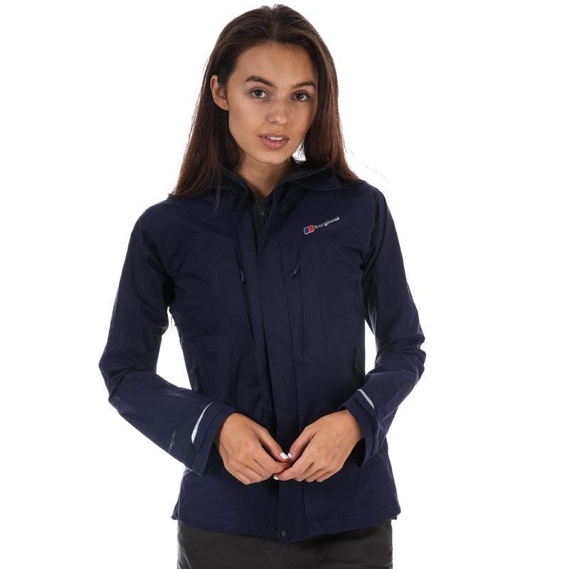 Berghaus Womens Light Trek Hydroshell Jacket Navy