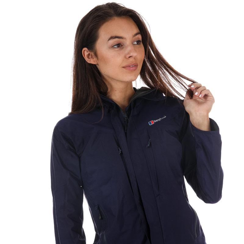 Berghaus Womens Light Trek Hydroshell Jacket Navy