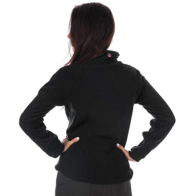 Berghaus Womens Prism Interactive Fleece Jacket Black