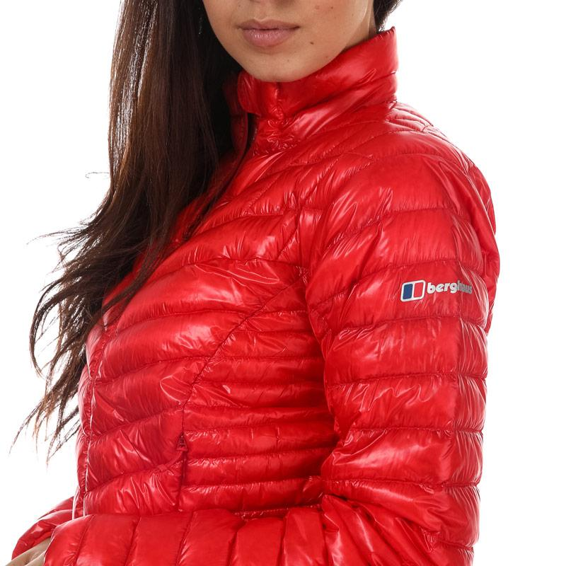 Berghaus Womens Ramche Hyper Hydrodown Jacket Red