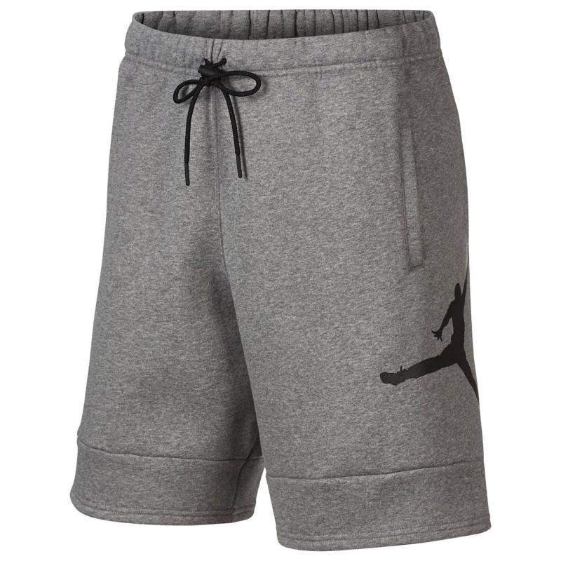Air Jordan Jordan Fleece Shorts Mens CARBON HEATHER/CARBON HEATHER/