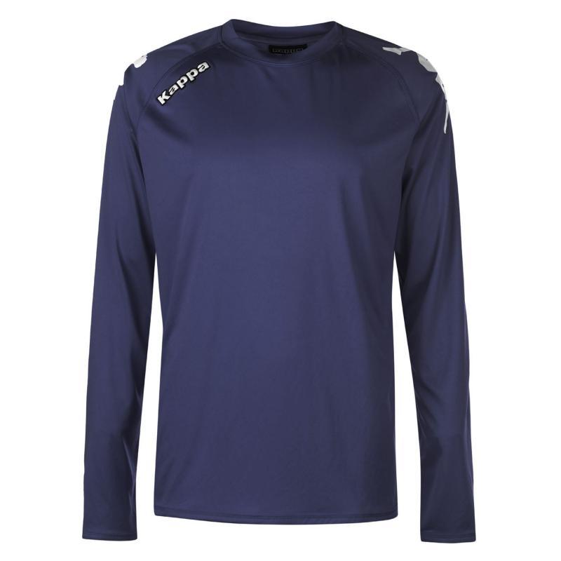 Tričko Kappa Veneto Long Sleeve T Shirt Mens GREEN