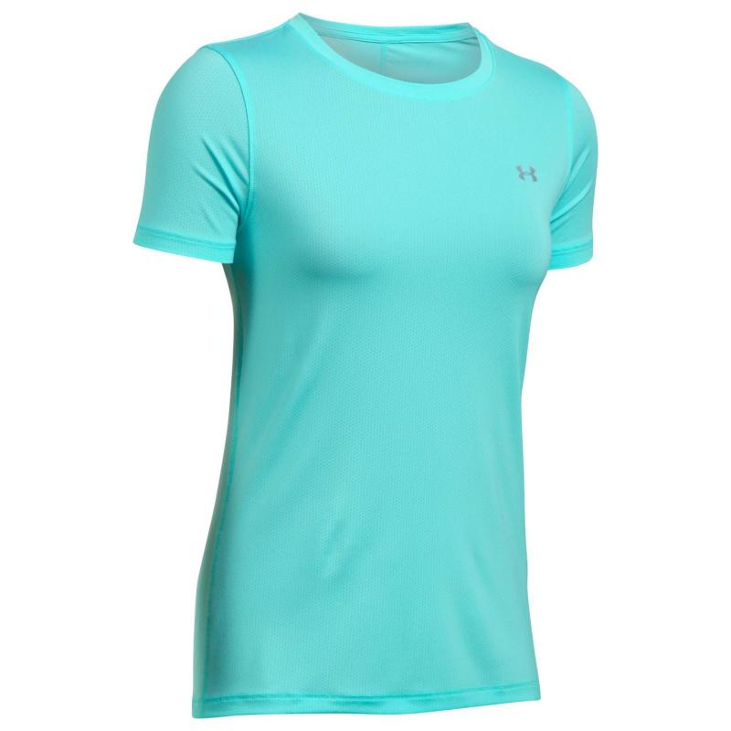 Under Armour 1285637 Short Sleeve T Shirt Ladies Blue