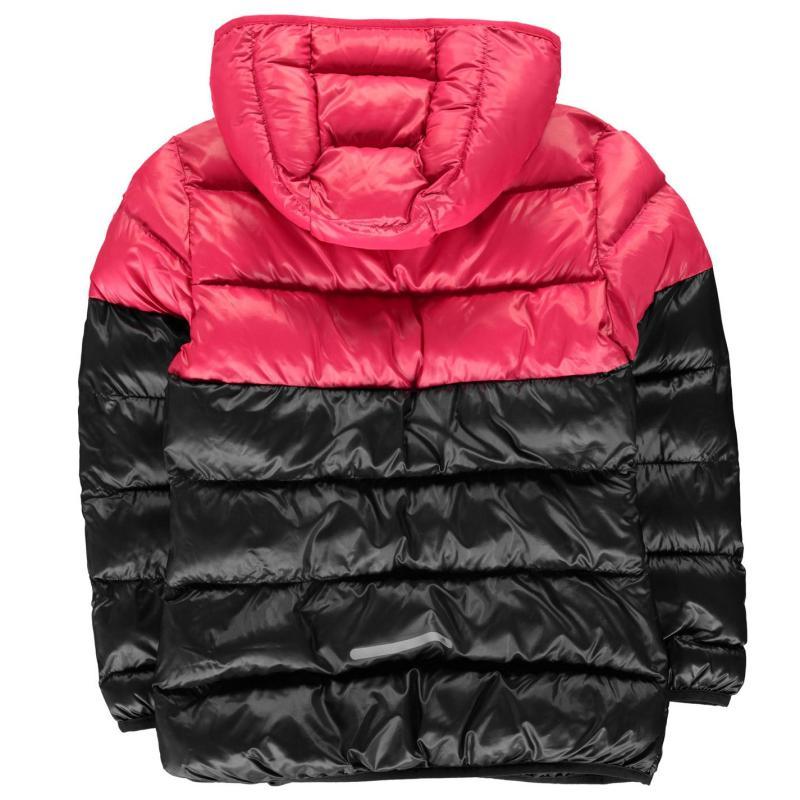 Adidas Padded Jacket Junior Girls Black/Pink